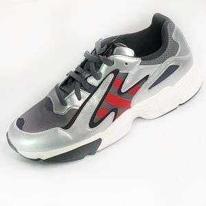 NEW adidas YUNG-96 gray/silver shoes male SZ:11.5
